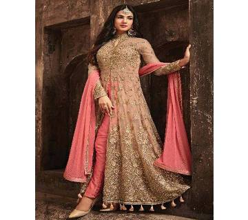 Indian Unstitched Georgette Three-piece - (Copy)