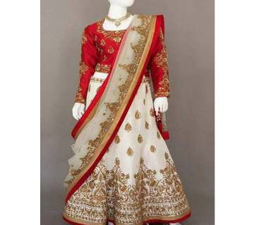 Indian Unstitched Georgette TLehenga - (Copy)