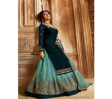 Indian Unstitched Georgette Long Suit (Copy)