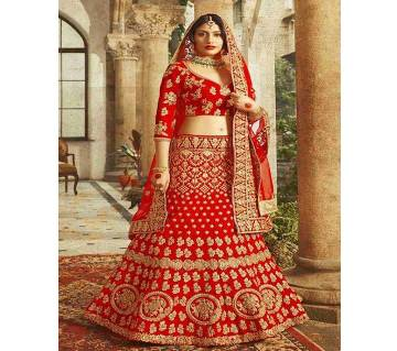 Indian Unstitched Georgette Lehenga (Copy)