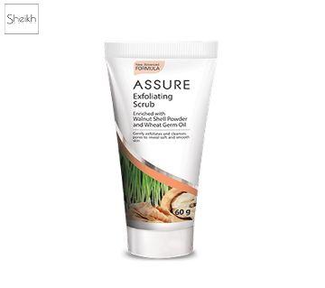 Assure Exfoliating Face Scrub-60gm-INDIA