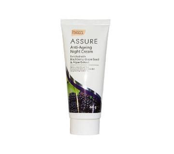 Assure Anti-Ageing Night Cream 60g - India