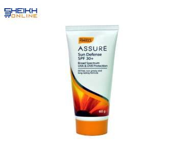 Assure Sun Defense SPF 30+  (60gm India)