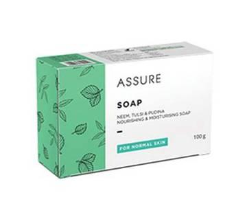 Assure Soap (Neem,Tulsi and Pudina) 100gm India