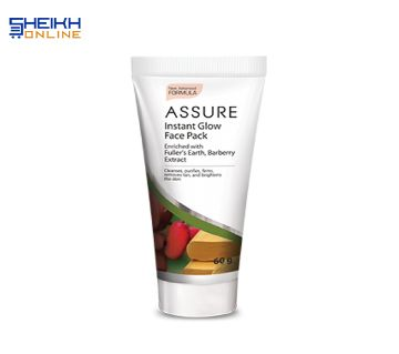 Assure Instant Glow Face Pack 60gm India