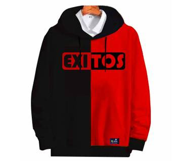 2-part red color-3 Mens Winter Hoodie