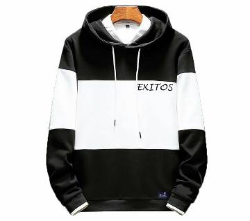 3-part-White-color Mens Winter Hoodie
