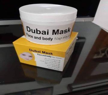 Dubai mask face and body