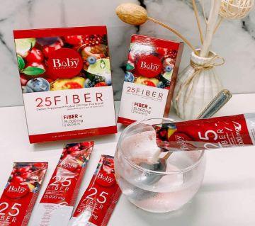 Baby 25 Fiber Juice Supplement  - 5 Sachets - Thailand