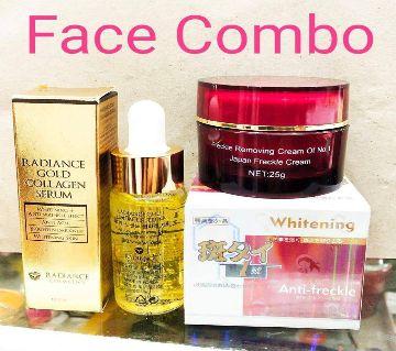 Face Combo (Japanese cream, 25 grm & Radiance Gold Collagen Serum, 20ml)