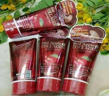 Red Apple collagen Face wash -180ML-THAILAND