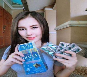 DNA white  Gluta Whitening capsul-30pcs-Thailand