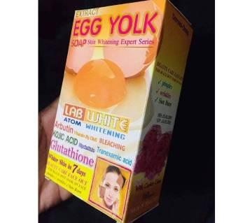 Egg yolk Atom Whitening soap-170gm-Thailand