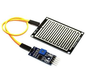 Rain Sensor Water Drops Rain Detector Module