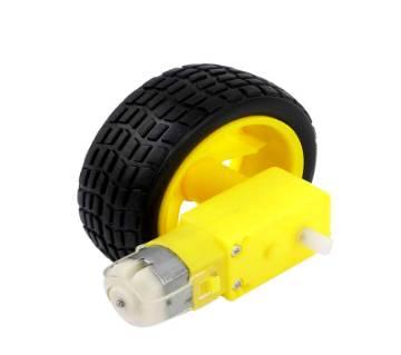 Gear Motor wheel pair Set