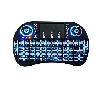 Mini wireless backlit keyboard with Touch pad