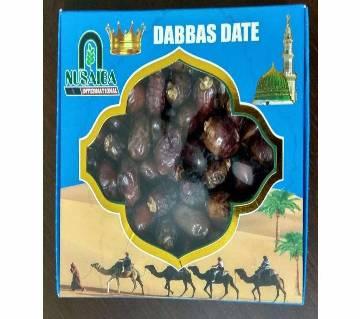 Dabbas Dates 1 kg saudi arabia