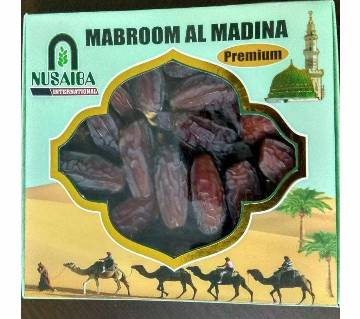 Mabroom Al Madina Premium Dates 500 gm saudi arabia