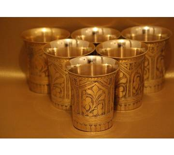 Pitoler Nokshi Glass (2) 6 pieces