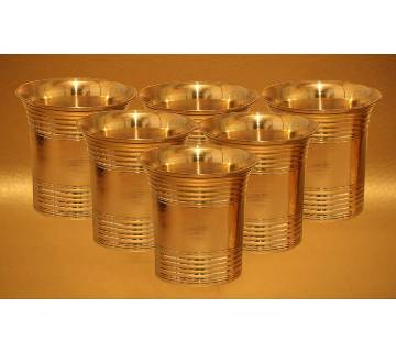 Pitoler Plain Ring Glass (6 pieces)