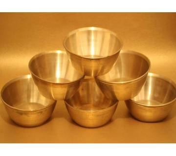 Brass metal bowl
