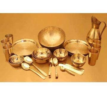 Exclusive Dinner Set Of Brass