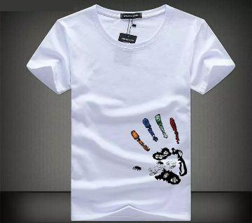 Menz Cotton Printed Tshirt