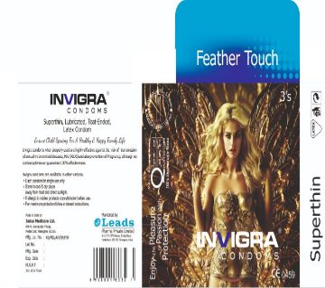 Feather Touch - super thin condoms for a highly sensitive and heavenly romance.