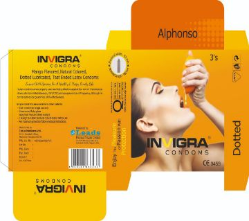 Alphonso - Mango Flavoured Condoms