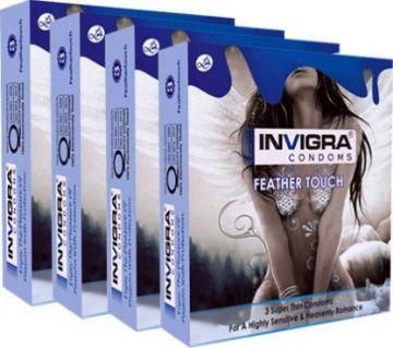 Invigra Feather Touch Ultrathin Condom
