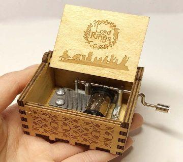 La La Land Wooden Music Box