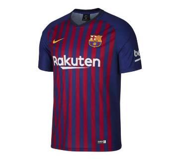 Barcelona Half Sleeve Jersey-Copy