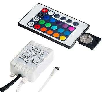 Remote With Control Box For RGB LED 3528 5050 Strip Light