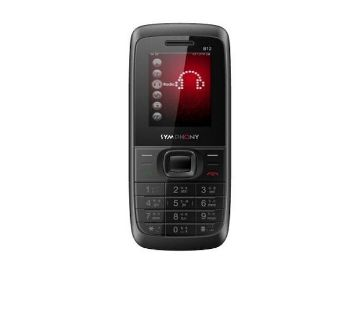 Symphony B12 - Feature Phone - Black and Red