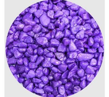 Purple pebbles