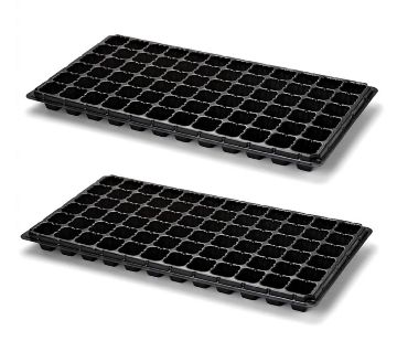 72 Cell Seedling Starter Trays For Seed Germination and Plant Propagation