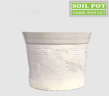 Gardening soil  pot for plant