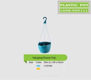 Gardening plastic  pot for plant