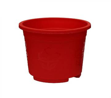 Round plastic pot 4 inches for plant