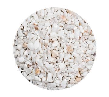 White pebbles for acqurium and plants-1 kg