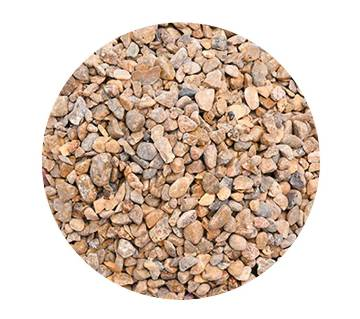 1 Kg brown pebbles