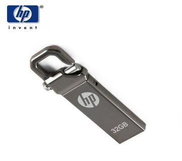 32 GB USB 3.0 Metal Key Ring Pendrive(Silver)