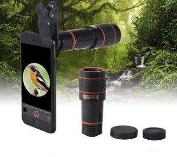 Mobile Telephoto Lens (8X Zoom) - Black