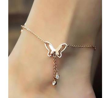 Butterfly Pendant Anklet Foot Chain