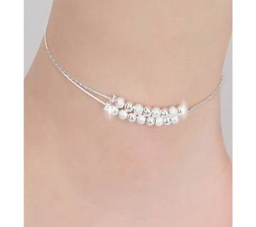 Bead Silver Chain Payel
