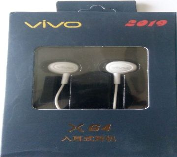 Original headphone wired earphones for Vivo
