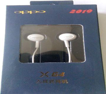 Original headphone wired earphones for OPPO