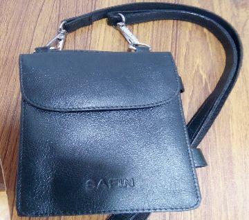 Original Leather Bag for motore bike rider