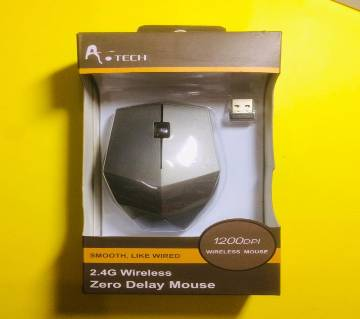 A Teach 2.4 wireless Zero Delay Mouse