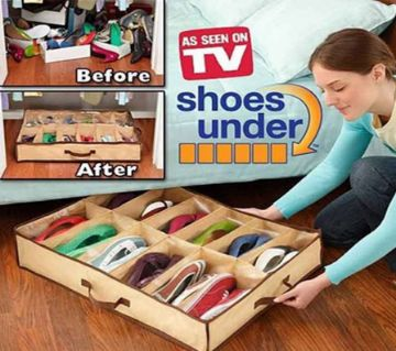 Under Space-Shoe Organizer